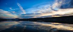 Lake Mohawk Christmas 2015 (William E photo) Tags: christmas morning lake mountains reflection landscape nikon zoom foggy nj full trinity frame sparta fx northeast ultrawide d3 uwa 1424
