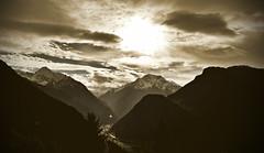 Zillertal (CA_Rotwang) Tags: alpen alps mountains berge österreich austria zillertal schnee snow wolken clouds