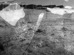 The West in Fragments (Rossdxvx) Tags: blackandwhite textured westernunitedstates westernlandscape desert 2015 decay decaying texture textures landscape iphone lofi monochrome mountain minimalism overlay
