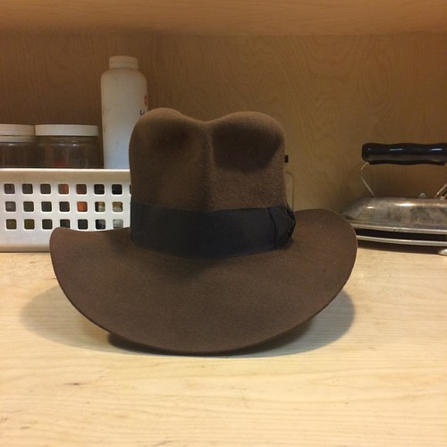 2073404758883 Just finished this  adventurebilthats legacy  raidersofthelostark   indianajones  penmanhats  hats  fedora