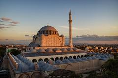 Mihrimah Sultan Mosque (mazharserdar) Tags: istanbul turkey travel trkiye ottomanarchitecture streetphoto historical cami architecture mosque minaret mihrimahsultanmosque mihrimahsultan mimarsinan dome