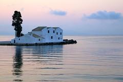 Happy Sunday ! / The  church  of Panagia Vlacherna at Kanoni, Corfu (Frans.Sellies) Tags: img7552 corfu kanoni vlacherna monastery