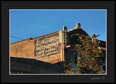Allen Stuidos Ghost Sign (the Gallopping Geezer 3.8 million + views....) Tags: sign signage building structure wall painted worn faded ad advertise advertisement product service jefferson avenue detroit mi michigan ghost ghostsign canon 5d3 sigma 24105 geezer 2016