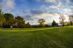 Beautiful Fall (TNMYcFan182) Tags: fall color wideangle fisheye contrast clouds sky outdoor nikon nikond7000 nature nikkor nikkorlens