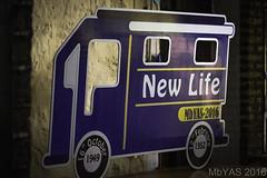 New Life Caravan cutout