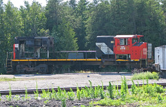 Good Bye (GLC 392) Tags: lsrc lake state railway railroad train mlw hr412 698 alpena mi michigan parted out scrapped scrap