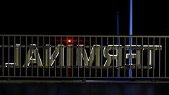 It's Terminal (Charos Pix) Tags: terminal ferry portdenice ferryterminal highlights sign beacon lighthouse redlight