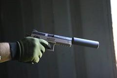 sniper pistol cz 75 (TheSwampSniper) Tags: airsoft sniper swamp bolt action ballahack marksman replica intervention elite force g28 novritsch owner field ghillie suit hood best dmr high powered spring aeg