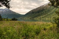 Crescent Lake (Bill McBride Photography) Tags: crescentlake kenaipeninsula kenai lake mountains landscape hdr photomatix alaska ak summer scenery july 2016 canon eos 70d efs18135stm