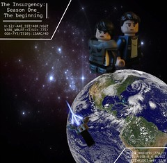 Poster (Marley Mac) Tags: lego minifig insurgecy fig figure minifigure picture pic photo edited edit pixlemator space spaceship ship