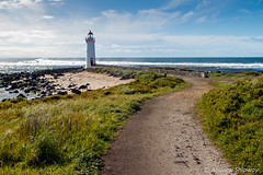 Griffiths Island Lighthouse (1859), Port Fairy, Victoria. (andrew52010) Tags: greatoceanroad griffithisland griffithsislandlighthouse holiday lighthouse portfairy portfairylighthouse southernocean victoria victoria2016