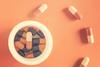 Metamorphosis (cazadordesueños) Tags: pill capsules healh medicine creative mindgame stilllife colorful pastillas capsulas creatividad macro