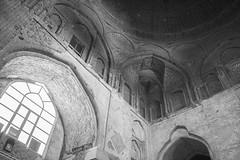 Nizam al-Mulk dome (Ali Shojaee) Tags: isfahan iran iranian art architecture arch dome tile stucco brick mehrab