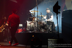 Ben from Royal Blood joins Billy Talent on stage at The Roundhouse