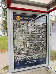 Information from Metro Warszawskie (transport131) Tags: info information informacja stacja station warszawa wola metro m2