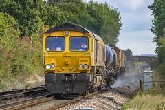 66738 T&T 66724 3W74 Great Chart 21102016 (Waddo's World of Railways) Tags: 66738 738 66 724 66724 rhtt