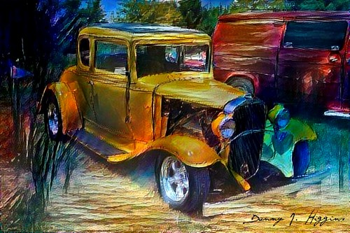 Car & Motorcycle Show & Swap Meet At The Psycho Silo Saloon In Langley, Illinois.    ...8