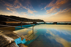 Mirrored Sky (gerryligon) Tags: whalebeach