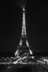 Eifelturm (ManuelaRi) Tags: latoureiffel frankreich ledefrance paris blackandwhite availablelight