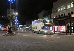 A Master at Work, Strand, Torquay, 28/11/16 (aecregent) Tags: strand torquay 281116 stagecoachsouthwest scania n230ud enviro400