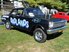 "1965 Chevy II Nova SS ""Badlands"" (splattergraphics) Tags: 1965 chevy chevyii nova novass badlands gasser carshow rustynutz jalopyrama carrollcountyagriculturalcenter westminstermd"