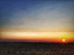 Sunset Mariental (AGHANSEN) Tags: namibia sunsets amazing lightburst wonderful besttime grootfontein mariental windhoek africa camelthorn fields bush grass mountains trees