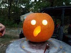 20161023_180933 (leigh49137) Tags: pumpkincarving2016 halloween pumpkin jackolantern loveleigh leighharrell leigh49137 loveleighphotography leightharrell leighturberville lth october autumn