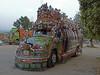 Happy colours (bus and truck) (violarosa1) Tags: pakistan taxila islamabad