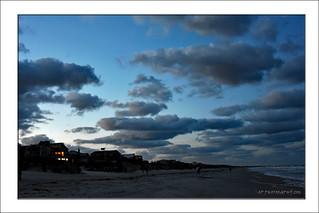 Walking on Atlantic Beach.