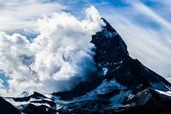 cut like a razor (LiterallyPhotography) Tags: wallis zermatt schweiz gipfel matterhorn wolken himmel fels gebirge alpen toblerone eis schnee gletscher gornergrat