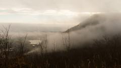 Minnesota Fog (fotosdenada) Tags: fog clouds niebla nubes acantilados cliffs bluffs mississippi