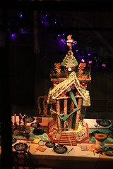 HMH (Myrna Litt) Tags: disneyland gingerbreadhouse hauntedmansion