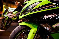 Kawasaki Ninja (KevinChallis) Tags: nikon nikond750 d750 d750lowlight bikes bike motorcycles motorcycle motorbikes motor sigma 24 24mm sigma24mmart 24mm14 grgeen kawasaki ninja 636 green machine new