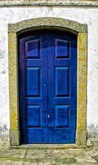 Porta Azul / Blue Door (jadc01) Tags: architecture d3200 nikon predios riodejaneiro sacra door churches churchedoor blue colonialarchitecture