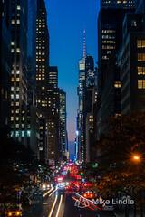 2016-Oct-17-Tudor_City-16.jpg (mikelindle) Tags: city ny ny16 cars concrete concretejungle desnity lighttrails longexposure newyork newyorkcity nyc pavement people population skyscrapers urban