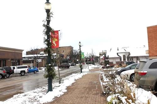 Downtown Cedar Falls on Main Street