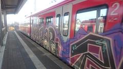 mazar (wallsdontlie) Tags: graffiti mazar train panel
