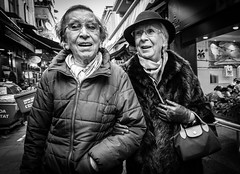 Friends forever (Mustafa Selcuk) Tags: happiness happy sokak monochrome monochromatic bw bnw blackandwhite elderly people 16mm fujifilm istanbul kadikoy street streetphotographer streetphotography travel turkey xpro2