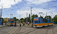 Change at Triagalnika (sava.tashev1) Tags: transport sofia bulgaria strasenbahn publictransport homemade bulgarian