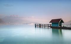 La petite maison au bord de l'eau (cedric.chiodini) Tags: le longexposure poselongue lake lac annecy sevrier hautesavoie 74 canon paysage landscape