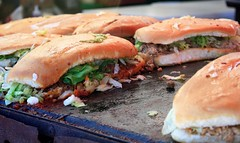 Mexican tortas (wenmft) Tags: mexicanfood torta grill grilledsandwich grilledmeat sandwich