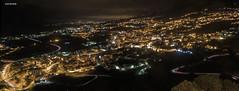 Panormica Icod de los Vinos noche (Icodense33) Tags: canon70d sigma1750 night longexposure