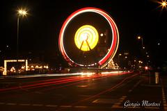 Wheel (gibrgio91) Tags: wheel longexposure lights night streets berlin deutschland germany abroad alexanderplatz