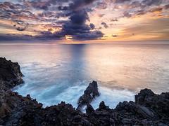 La Palma sunset (Stephen Elliott Photography) Tags: olympus seascape sunset la palma canary islands evening nisi filters em1 714mm