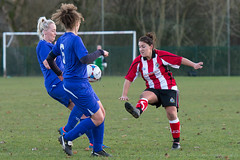 Altrincham LFC vs Stockport County LFC - December 2016-157 (MichaelRipleyPhotography) Tags: altrincham altrinchamfc altrinchamlfc altrinchamladies alty amateur ball community fans football footy header kick ladies ladiesfootball league merseyvalley nwrl nwrldivsion1south nonleague pass pitch referee robins shoot shot soccer stockportcountylfc stockportcountyladies supporters tackle team womensfootball