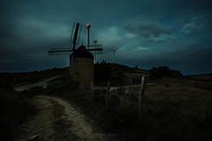 Molino II - Windmill II (javidurojimenez) Tags: molino windmill navarra