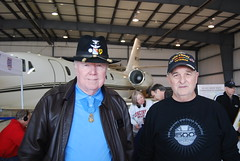 Colonel Bruce Crandall - MOH Recipient and Danny Wilson
