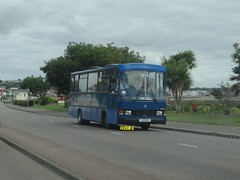 Tantivy 3 (Coco the Jerzee Busman) Tags: uk blue bus islands coach camo renault cannon jersey swift dennis tours dart channel leyland lcb plaxton tantivy