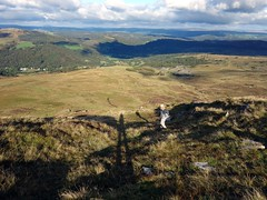 """Descending into grasslands from the northeast ridge of Moel Siabod • <a style=""""font-size:0.8em;"""" href=""""http://www.flickr.com/photos/41849531@N04/20967971944/"""" target=""""_blank"""">View on Flickr</a>"""