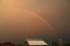 Rainbow view from the Baluarte San Francisco Javier, Cartagena de Indias, Colombia. (heraldeixample) Tags: arcoiris rainbow colombia javier cartagena magichour goldenhour arcdesantmart arciris horadorada baluartesanfranciscojavier oradorata heraldeixample